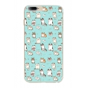 Adorable Allover Cat Cartoon Pattern Soft iPhone Mobile Phone Case