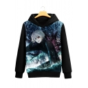 Hot Fashion Cartoon Print Long Sleeve Leisure Hoodie