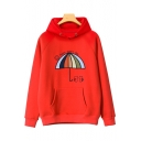 Spring's New Arrival Umbrella Letter Printed Long Sleeve Hoodie
