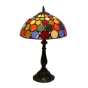 Colorful Small Circle Dome Shade Tiffany Stained Glass 20