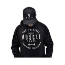 Leisure Letter Printed Loose Long Sleeve Sports Hoodie with Pocket