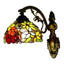 Multicolored Flower Pattern Tiffany 8