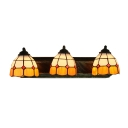 Tiffany Corridor Wall Sconce 3-Light 24