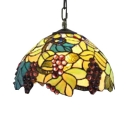 Fruit Dome Shaped Tiffany Art Glass Shade 12