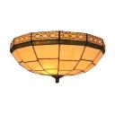 Simple Three Light Flush Mount Lamp with 16