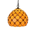 Simple Pendant Light with Tiffany Style 12