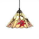 Floral Pendant Light with 8