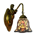 Bell Design Colorful Glass Shade 8
