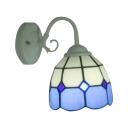 Nautical Simple Blue&White Wall Sconce with 6