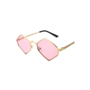 New Hot Chic Hexagon Shaped Frame Stylish Sunglasses