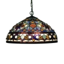 Conical Shade Tiffany Glass 16