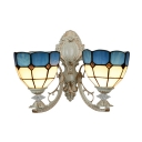 Tiffany Wall Sconce Mediterranean Style with 16