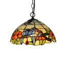 Vintage Art Pendant Light Tiffany 12