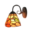 Cone Bird Pattern Glass Shade 5