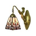 Mermaid Lamp Backplate Baroque Style 6