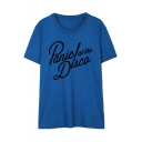 PANIC AT THE DISCO Letter Printed Round Neck Short Sleeve Tee