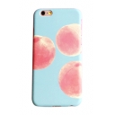 Peach Printed Mobile Phone Case for iPhone