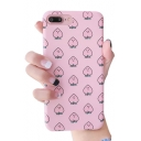 Cartoon Peach Printed Mobile Phone Case for iPhone