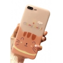 OH MY BABY Letter Cat Printed Mobile Phone Case