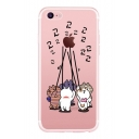 Lovely Cat Printed Mobile Phone Case for iPhone