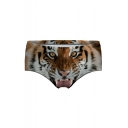 Sexy 3D Tiger Printed Women's Underwear Panty