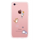 Cat Letter Printed Mobile Phone Case for iPhone