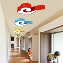 Creative Cloud Suspension Lamp Modern Design Blue/Green/Yellow/Red Acrylic Pendant Lighting for Nursing Room