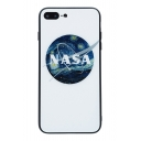NASA Letter Painting Printed Mobile Phone Case for iPhone