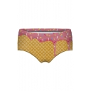 Ice Cream Printed Skinny Women's Underwear Panty