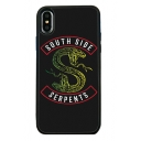 SOUTH SIDE Letter Snake Printed Mobile Phone Case for iPhone