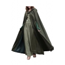 Hot Sale Plain Loose Tunic Hooded Cape