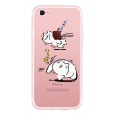 Cute Cat Japanese Printed Mobile Phone Case for iPhone