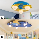 Modern Kids Children Baby Room LED Flush Mount Lighting (2 options available)