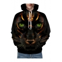 3D Animal Printed Oversize Long Sleeve Unisex Hoodie