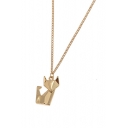 Chain Fox Pattern Chic Necklace
