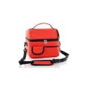 Large Capacity Thermal Plain Shoulder Mommy Bag