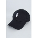 Trendy Gesture Embroidered Unisex Baseball Hat