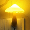 Plug-in Chargeable Mushroom Mini Wall Night Light for Corridor Stairway