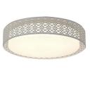 Modern Bedroom/Living Room Acrylic Round LED Ceiling Light Warm Light