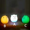 Sillica Gel Touch Sensing Kids Bed LED Night Light Mini Touch Sensing Lamp