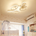 Lovely Angle Wings Kids Bedroom LED Ceiling Lights