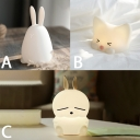 Wireless Bunny Girls Bedroom LED Night Light USB Rechargeable