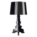 Polycarbonate Table Lamp Black/Clear