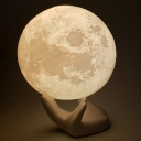 Bedroom Decorative Moon Light Dimmable Night Light 3D Effect