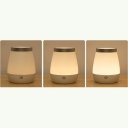 Chargeable Night Light Touch Table Lamp for Bedroom Beside Table Lamp Creative Wireless Lamp
