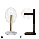 Ultra-thin Hollow Out Globe Decorative Acrylic Night Lamp with Wooden Base