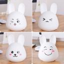 USB Rechargeable White Rabbit Nightlight for Kids Bedroom 5 Types for Option