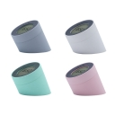 Wireless Chargeable Macaroon Kids Night Light with Alarm Clock in Gray/White/Green/Pink