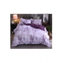 Classic Marble Printed Three Pieces Bedding Sets Duvet Cover Set Bed Pillowcase
