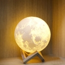 Touch/Remote Moon Light Night 3D Effect Color Changing